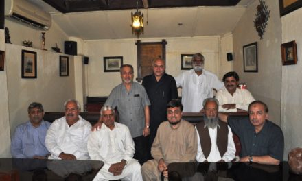 DINNER with Kaleem Sb and Brig. Mukhtar, Islamabad (PI),  – June 2011