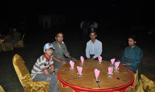 THE SEVENTH  MONTHLY ISLAMABAD (PI) DINNER, Rawal Lake – Sept 2011 (EID MILAN)