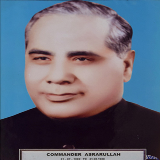 Cdr.(R) Muhammad Asrarullah, PN