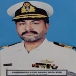 Cdre.(R) Syed Qamar Raza, PN