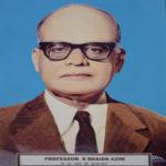 Prof. Syed Shaida Azim