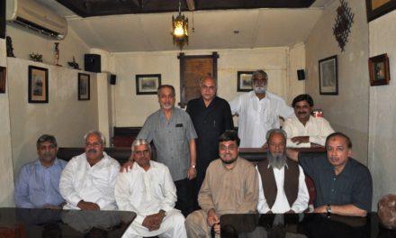 DINNER with Kaleem Sb and Brig. Mukhtar, Islamabad (PI),  – June 2011